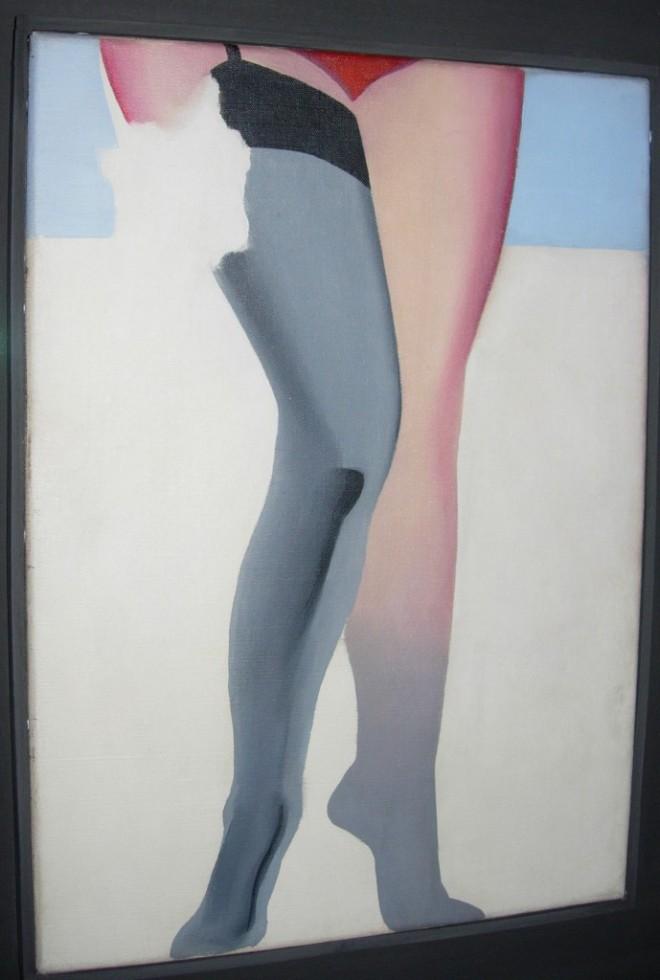 Allen Jones, Legs, 1965, oil on canvas