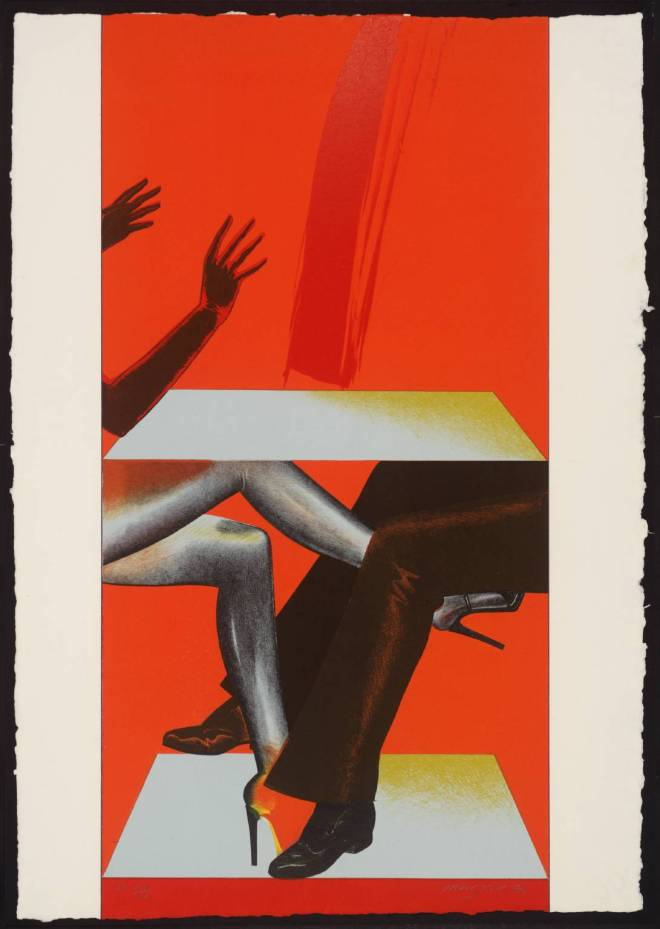 Allen Jones, IV, 1976. Tate Gallery, London
