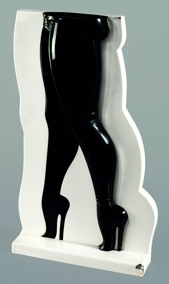 Allen Jones, Legs, 1970, multiple plastics.
