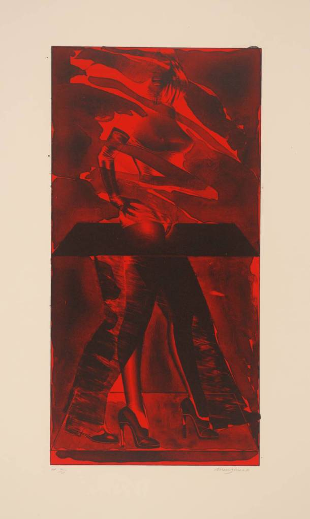 Allen Jones, Red Feat, 1976. Tate Gallery, London