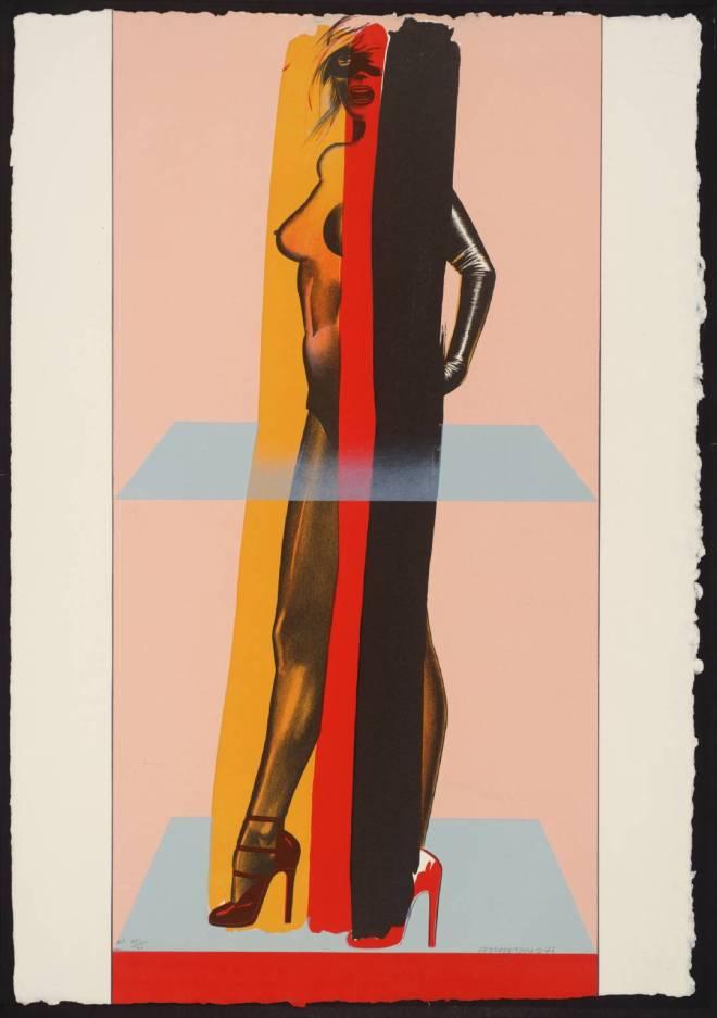 Allen Jones, V, 1976. Tate Gallery, London
