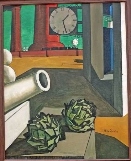Giorgio de Chirico, Philosopher's Conquest, 1914. Art Institute of Chicago.