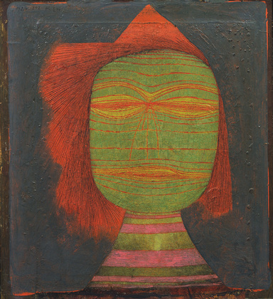 Paul Klee, Actor's Mask, MOMA, New York