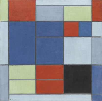 Piet Mondrian, composition c