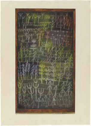 Paul Klee;, Flower Garden, MOMA, New York