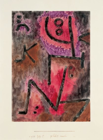 Paul Klee, Glueht Nacht, Beyeler Foundation, Switzerland
