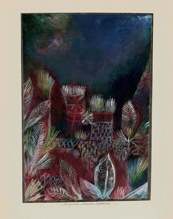 Paul Klee, Tropische Daemmerung, Beyeler Foundation, Switzerland