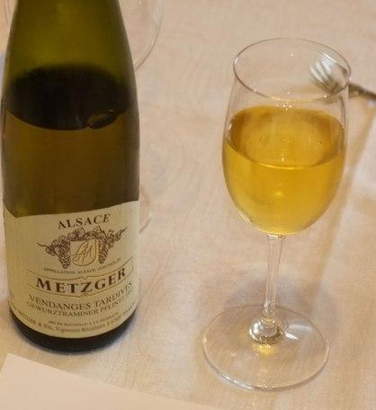 Metzger, Gewurztraminer Pflinz 1997