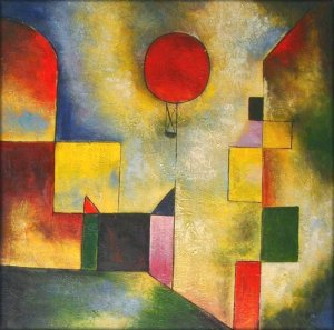 Paul Klee, Red Baloon, Guggenheim Museum, New York