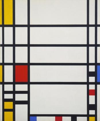 Piet Mondrian, Trafalgar Square