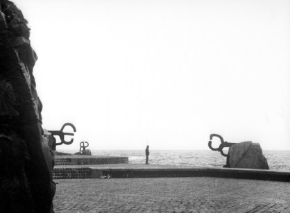 Eduardo Chillida in the Comb of the Winds