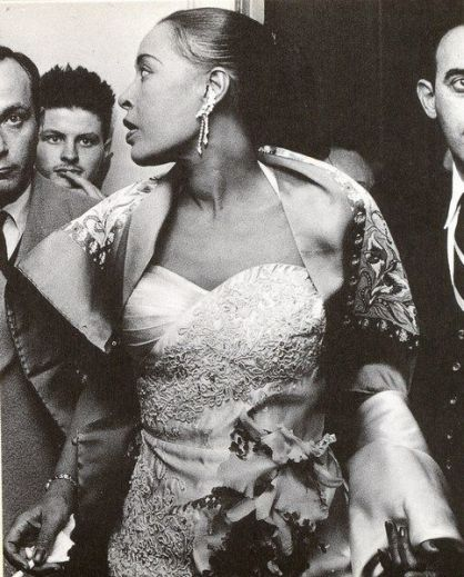 Billie Holiday in Olympia, November 1958