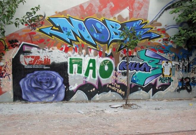 Petralona graffitti