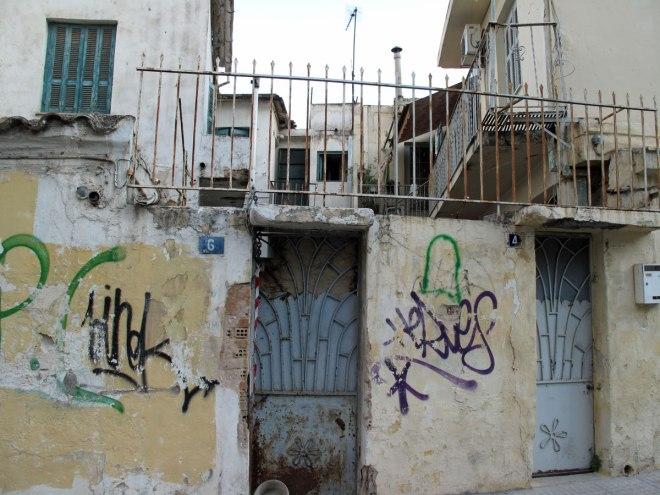 Hybrid urban space in Petralona