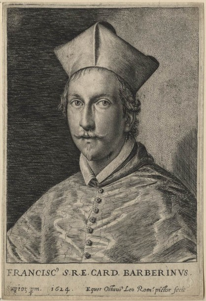 Cardinal Francesco Barberini, Fitzwilliam Museum, Cambridge, England