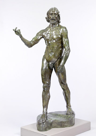 Auguste Rodin, St. John the Baptist, Victoria & Albert Museum, London