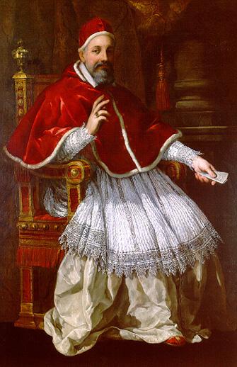 Pope Urban VIII, by Pietro da Cortona