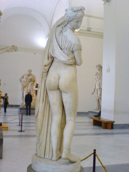 Aphrodite Kallipygos, National Archaelogical Museum, Naples, Italy