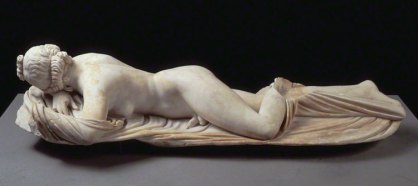 The Broghese Hermaphrodite, Louvre, PAris, France.