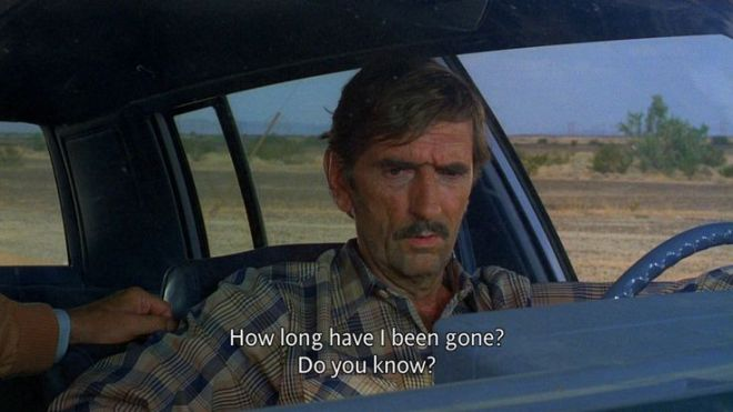 Paris, Texas, a film by Wim Wenders