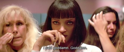 Pulp Fiction, a film by Quentin Tarantino