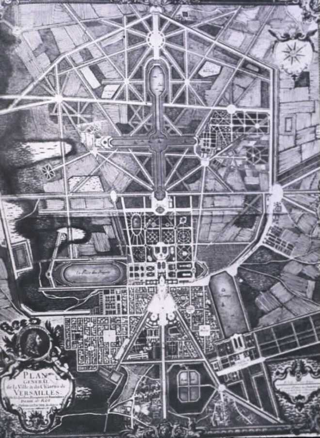 Versailles, Garden Plan