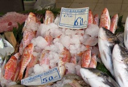 Barbunya, Pera Fishmarket, Istanbul,