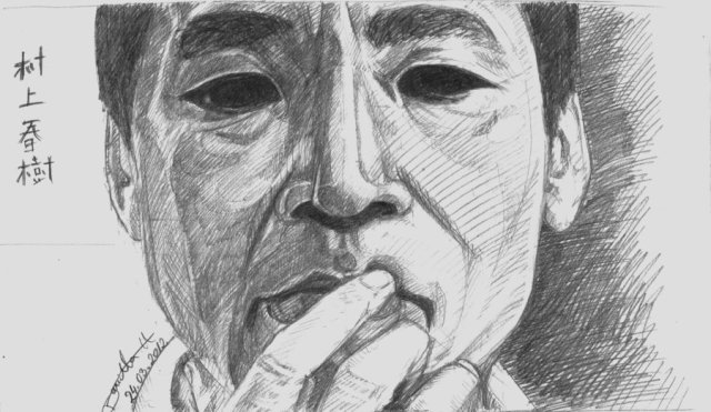 haruki_murakami_by_danetta-d4tw67y