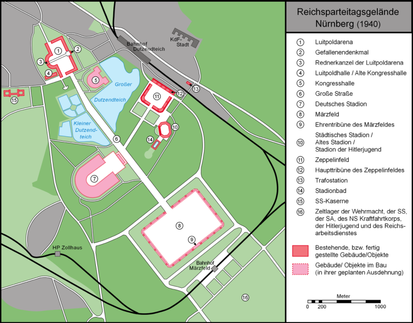 Karte_Reichsparteitagsgelände_Nürnberg_1940