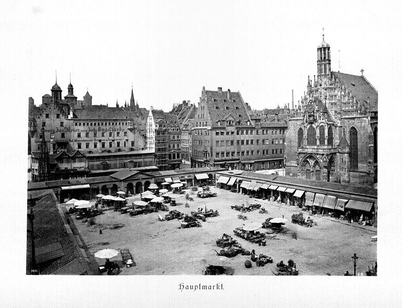 hauptmarkt_nuremberg_1891